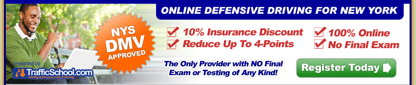 Web Point Reduction Defensive Driving
